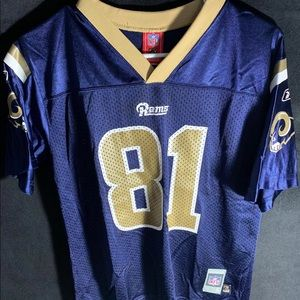 St. Louis Rams #81 Torry Holt Jersey